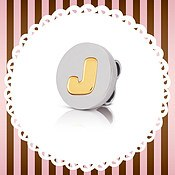 My Bon Bons J Cord Charm by Nomination