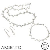 Argento Pearl Crystal Set