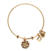 Karma Gold Be True To Yourself Coin Bangle