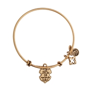 Karma Gold To Be Coin Bangle