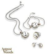 August Woods Society Crystal Border Gift Set