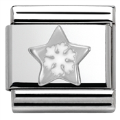 Nomination SilverShine Christmas Star Charm