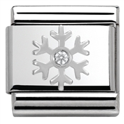 Nomination SilverShine Christmas Snowflake Charm