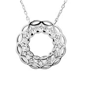 Argento Ornate Wreath Necklace