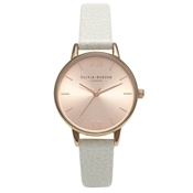 Olivia Burton Midi Dial Mink and Rose Gold Watch