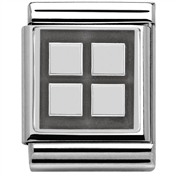 Nomination Big Four Squares Charm