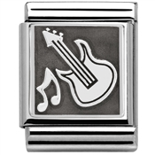 Nomination Big Guitar Charm