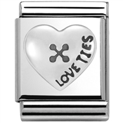 Nomination Big Love Ties Charm