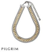 PILGRIM Gold and Silver Chain Necklace