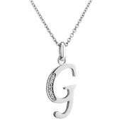 Argento Letter G Necklace