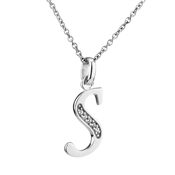 Argento Letter S Necklace