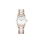 Thomas Sabo White Round Ceramic Steel Watch