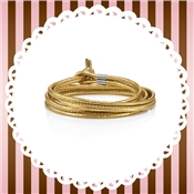Nomination My Bon Bons Gold Leather Bracelet