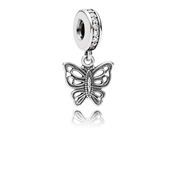 Pandora Love Takes Flight Butterfly Dangle Charm