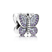 Pandora Sparkling Butterfly Charm