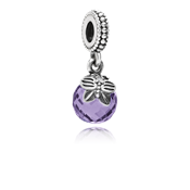 Pandora Purple Morning Butterfly Charm
