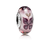 PANDORA Pink Butterfly Kisses Murano Charm