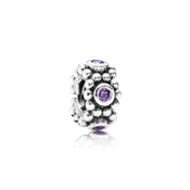 Pandora Purple Her Majesty Spacer