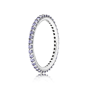 Pandora Purple Forever Stacking Ring
