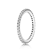 Pandora Clear Forever Stacking Ring