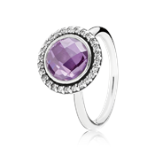 Pandora Purple Brilliant Legacy Ring