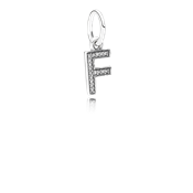 PANDORA Alphabet F Dangle Charm