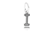 PANDORA Alphabet I Dangle Charm