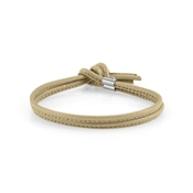 Nomination Beige Leather My Bon Bons Bracelet