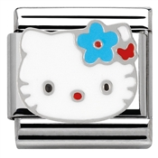 Nomination Hello Kitty Blue Flower Charm