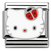 Nomination Hello Kitty Red Ladybird Charm