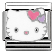 Nomination Hello Kitty Pink Hearts Charm
