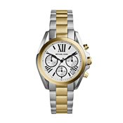 Michael Kors Silver Gold Bradshaw Watch
