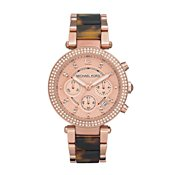 Michael Kors Rose Gold Blair Chronograph Watch