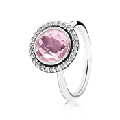 Pandora Pink Brilliant Legacy Ring