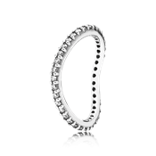 Pandora Wave Eternity Ring