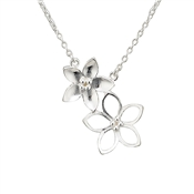 Argento Outlet Double Cherry Blossom Necklace