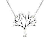 Argento Silver Tree Necklace