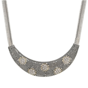 August Woods Society Crystal Statement Necklace