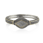 August Woods Society Pave Diamond Bangle