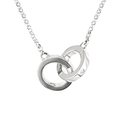 Argento Silver Link Necklace
