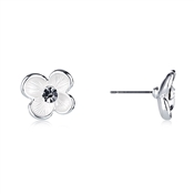 August Woods Frosted Flower Studs