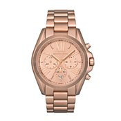 Michael Kors Rose Gold Bradshaw Watch