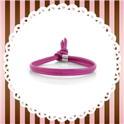 Nomination My Bon Bons Pink Orchid Leather Bracelet