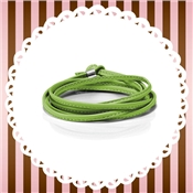 Nomination My Bon Bons Green Leather Wrap Bracelet