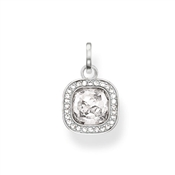 Thomas Sabo Clear Cz Square Pendant