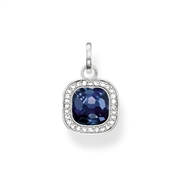 Thomas Sabo Dark Blue Square Pendant