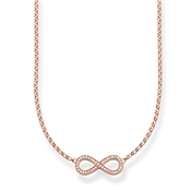 Thomas Sabo Rose Gold Infinity Necklace