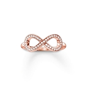 Thomas Sabo Rose Gold Infinity Ring