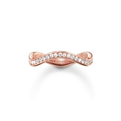 Thomas Sabo Rose Gold Wave Band