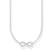 Thomas Sabo Silver Infinity Necklace